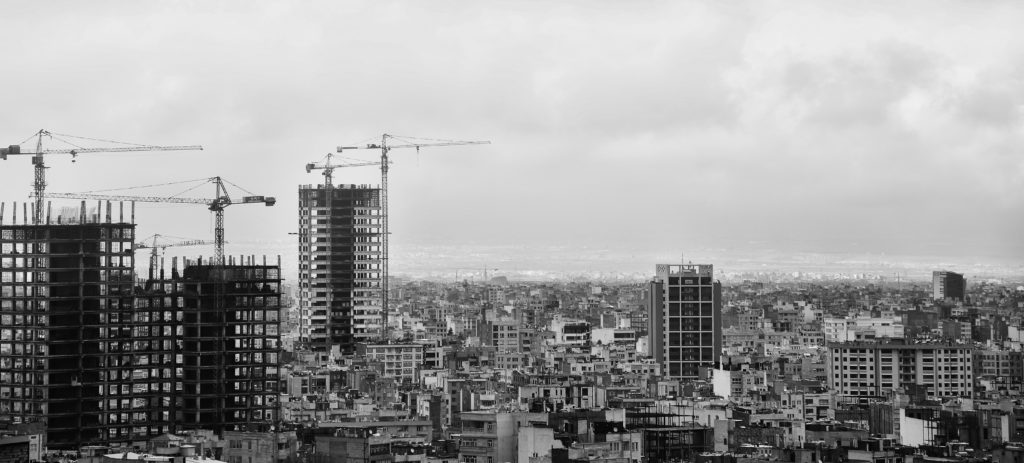 Housing Construction Skyline